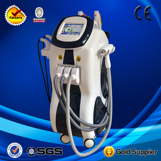 5 in 1 SHR IPL nd yag laser cavitation RF multifunction beauty machine