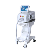 Medical CE approved portable diode laser hair removal machine with big spot size