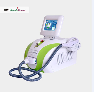 Portable 2 in 1 SHR IPL machine for permanent hair removal, skin rejuvenation