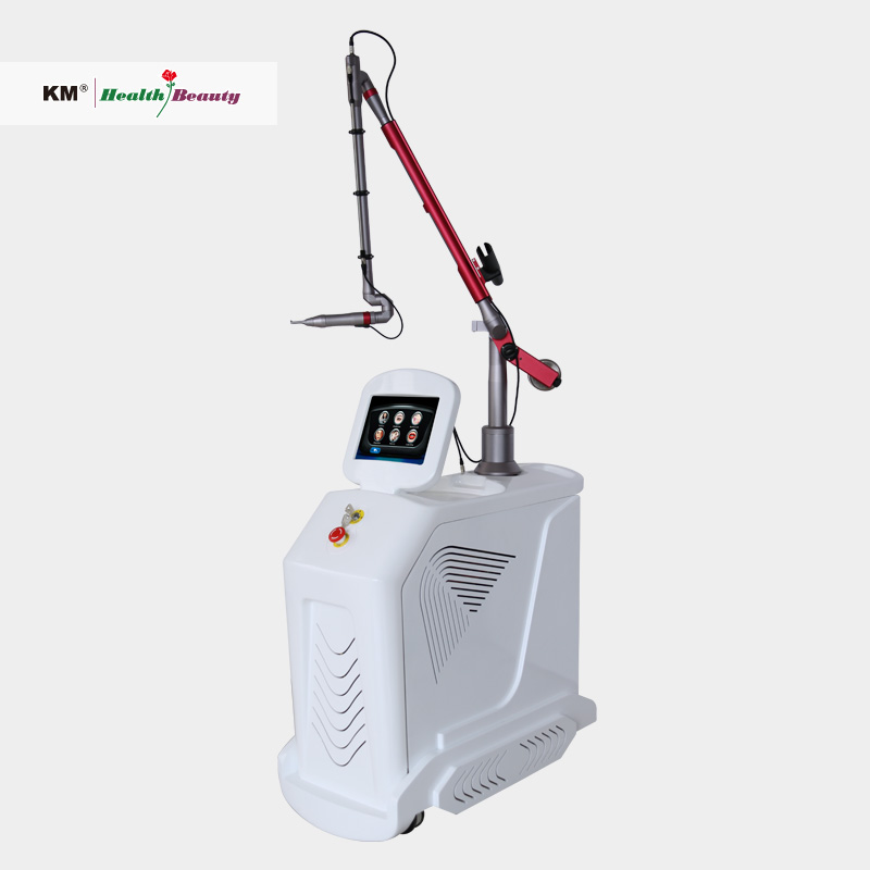 Tattoo removal picosecond laser q switched machine with 532nm 1064nm